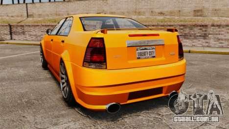 Albany Stinger para GTA 4 traseira esquerda vista