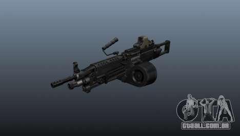 A metralhadora M249 luz para GTA 4