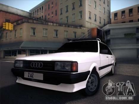 Audi 80 B2 v2.0 para GTA San Andreas vista superior