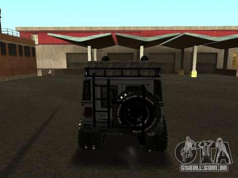 Hummer H1 Offroad para GTA San Andreas vista direita
