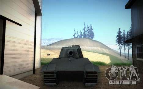 E-75 Tiger III para GTA San Andreas vista direita