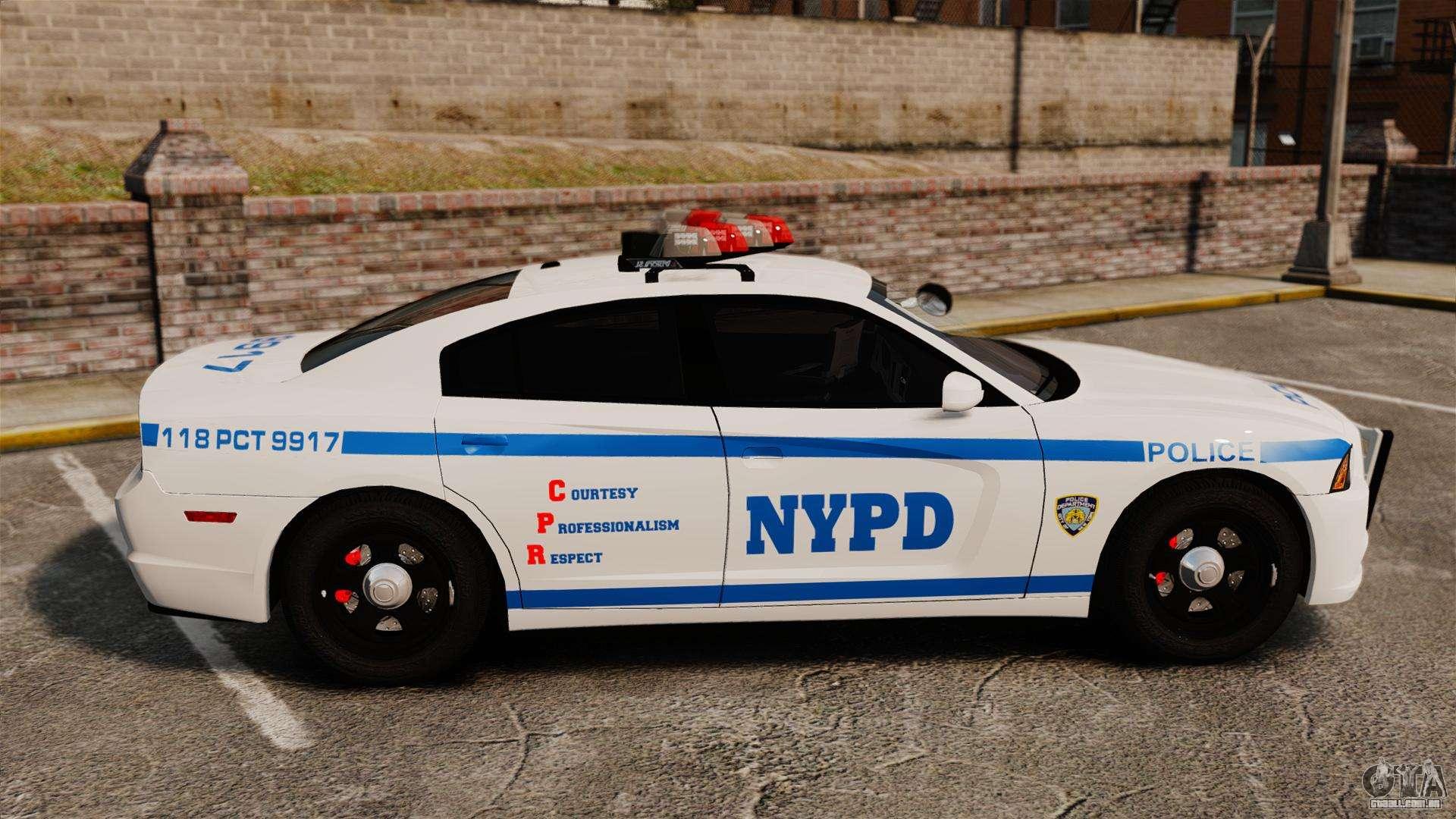 Dodge Charger 2012 Nypd Els Para Gta 4