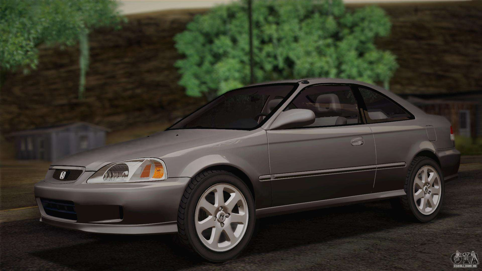 Honda Civic Si 1999 Coupe Para Gta San Andreas