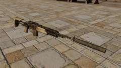 M14 rifle com silenciador
