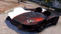 Lamborghini Aventador J 2012 Carbon para GTA 4