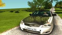LADA 2170 Priora branco & preto para GTA San Andreas