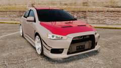 Mitsubishi Lancer Evolution X GSR 2008