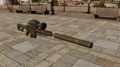 Barrett M82A1 rifle sniper com silenciador