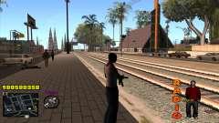 C-HUD Radio para GTA San Andreas