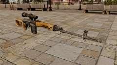 Rifle de sniper Dragunov para GTA 4