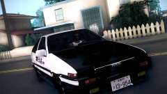 Toyota Trueno AE86 Initial D 4th Stage para GTA San Andreas