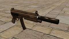 A pistola-metralhadora MP5 com silenciador