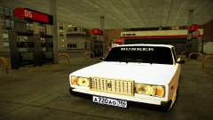 VAZ 2107 BUNKER para GTA San Andreas