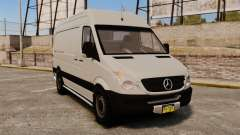 Mercedes-Benz Sprinter 2500 Delivery Van 2011 para GTA 4