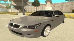 BMW M5 E60 limousine para GTA San Andreas