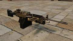 A M249 luz metralhadora Camo