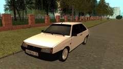 VAZ 2108 hatchback de 3 portas para GTA San Andreas