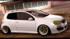 Volkswagen Golf MK5 Lowstance para GTA San Andreas