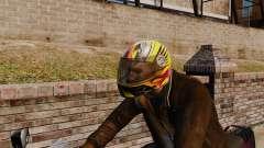 Uma coleção de capacetes Arai v1