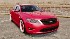 Ford Taurus SHO 2010 para GTA 4