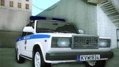 Lada 2107 Rendőrség