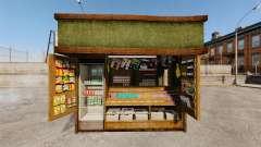 Novos produtos no quiosque de café