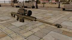 O Barrett M82 sniper rifle
