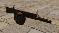 O AA-12 shotgun com silenciador