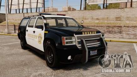 GTA V Declasse Granger Sheriff para GTA 4