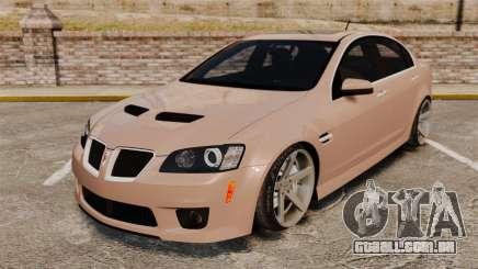 Pontiac G8 GXP [VE] 2009 para GTA 4