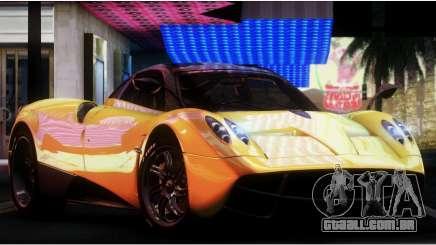 Pagani Huayra 2013 para GTA San Andreas