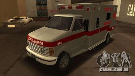 Ambulance HD from GTA 3 para GTA San Andreas