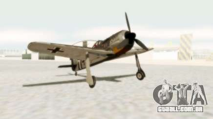 Focke-Wulf FW-190 A5 para GTA San Andreas