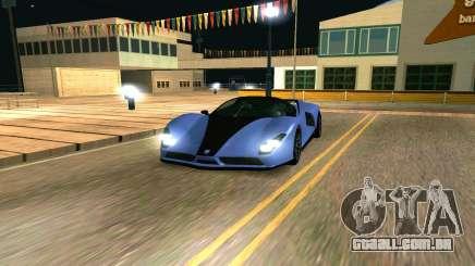 A chita de GTA 5 para GTA San Andreas