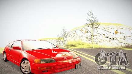 Honda CRX - Stock para GTA San Andreas
