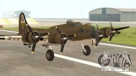 B-17G para GTA San Andreas
