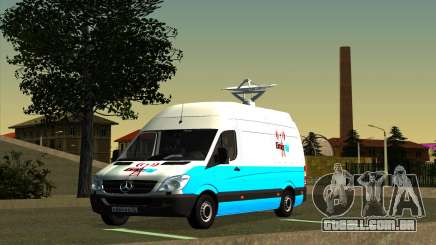 Mercedes Sprinter Entire FM para GTA San Andreas