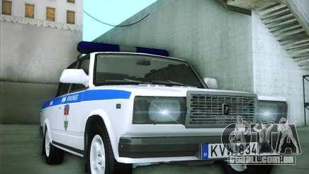 Lada 2107 Rendőrség para GTA San Andreas