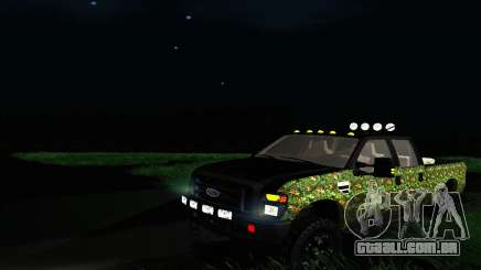 Ford F-250 Realtree Camo Lifted 2010 para GTA San Andreas