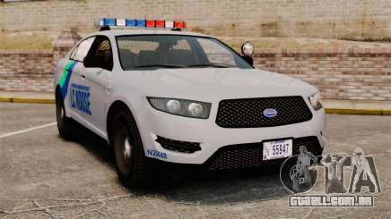 GTA V Vapid Police Stanier Interceptor [ELS] para GTA 4