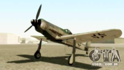 Focke-Wulf FW-190 D12 para GTA San Andreas
