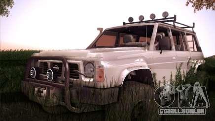 Nissan Patrol GR 1991 para GTA San Andreas