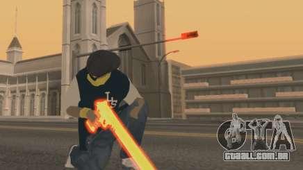 Vagos Gun Pack para GTA San Andreas