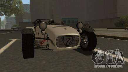 Caterham 7 Superlight R500 para GTA San Andreas