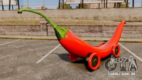 Carro-pimenta - para GTA 4 traseira esquerda vista
