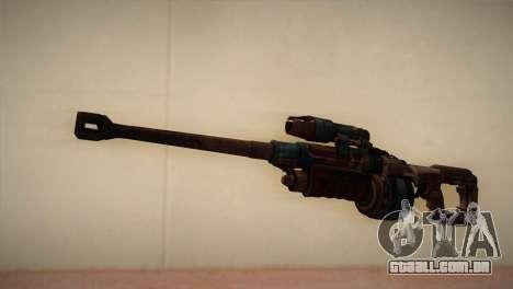 Rifle sniper de Bulletstorm para GTA San Andreas