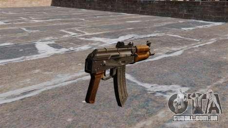 AKS74U automático para GTA 4 segundo screenshot