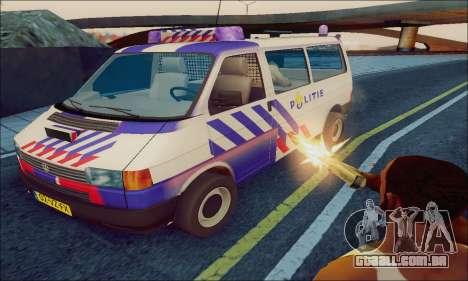 Volkswagen T4 Politie para GTA San Andreas