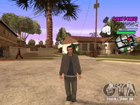 HUD para GTA San Andreas