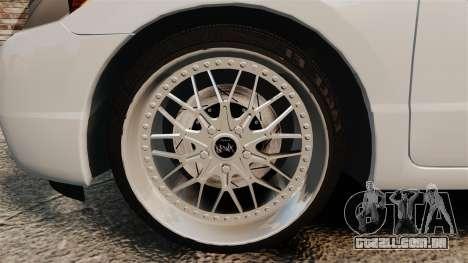 Honda Civic Si v2.0 para GTA 4 vista de volta